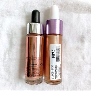 Sephora Makeup - ✨ CoverFX & Pacifica liquid highlighter set